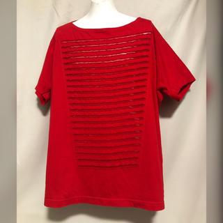 COMME des GARCONS ビッグシルエット Tシャツ カットソー 赤