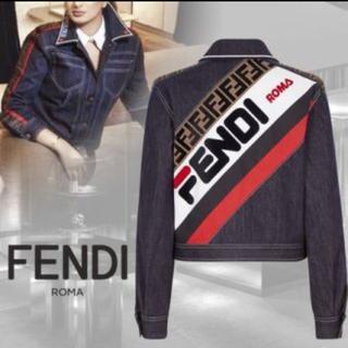 フェンディ(FENDI)のFENDI デニムジャケット フィラコラボ(Gジャン/デニムジャケット)