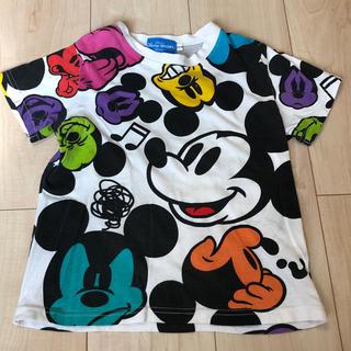 ディズニー(Disney)のディズニーリゾート・ミッキーTシャツ110cm(Tシャツ/カットソー)
