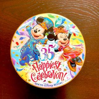 ディズニー(Disney)のディズニー 缶 35周年(キャラクターグッズ)