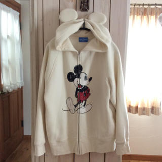 ディズニー(Disney)のミッキー 耳付きフードパーカー(パーカー)