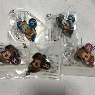ディズニー(Disney)のディズニー ピンバッチ&メモ帳(キャラクターグッズ)