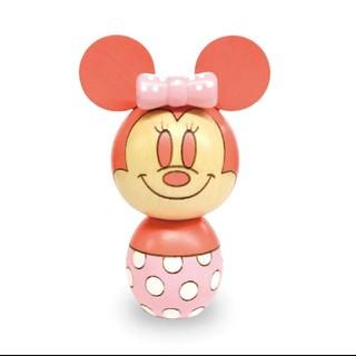 ディズニー(Disney)のディズニー90周年🌸2019年限定カラー ♥️ミニーちゃんこけし♥️(キャラクターグッズ)