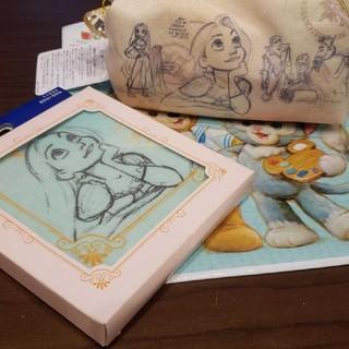 ディズニー(Disney)のディズニー15周年記念ポーチ&タオル(キャラクターグッズ)