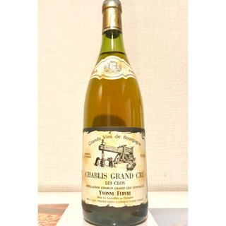 シャブリ グランクリュ レクロ(ワイン)