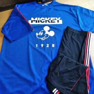ディズニー(Disney)のTシャツとズボンセット 4L  未使用(ルームウェア)