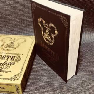ディズニー(Disney)のディズニー 35周年 金プレート付き アソーテッドチョコレート(菓子/デザート)