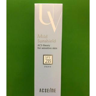 アクセーヌ(ACSEINE)のアクセーヌ新品★マイルドサンシールド SPF28・PA++(化粧下地)