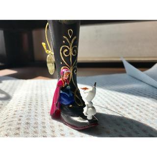 ディズニー(Disney)の【美品・海外限定品】アナと雪の女王〜アナとオラフのオーナメント おまけ付き*(キャラクターグッズ)
