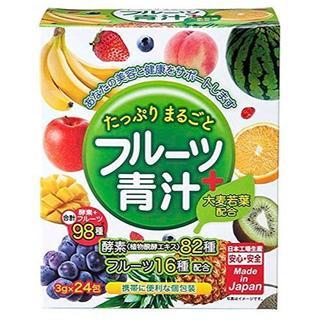 たっぷりまるごと フルーツ+青汁 【新品未開封】(青汁/ケール加工食品 )