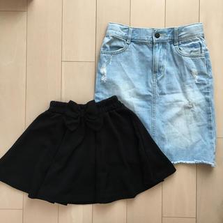 ジーユー(GU)のスカートセット(スカート)