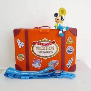 ディズニー(Disney)の【未使用】ディズニー ポップコーンバケット 35周年 バケーションパッケージ(ノベルティグッズ)