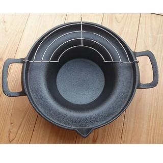 ※ジャスミン様専用※南部鉄器 天ぷら鍋(鍋/フライパン)
