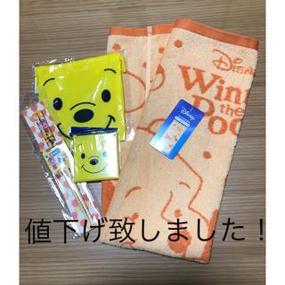 ディズニー(Disney)のディズニー フェイスタオルと小物セット(タオル/バス用品)