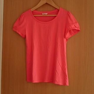 ユニクロ(UNIQLO)のユニクロ ピンクTシャツ(Tシャツ(半袖/袖なし))