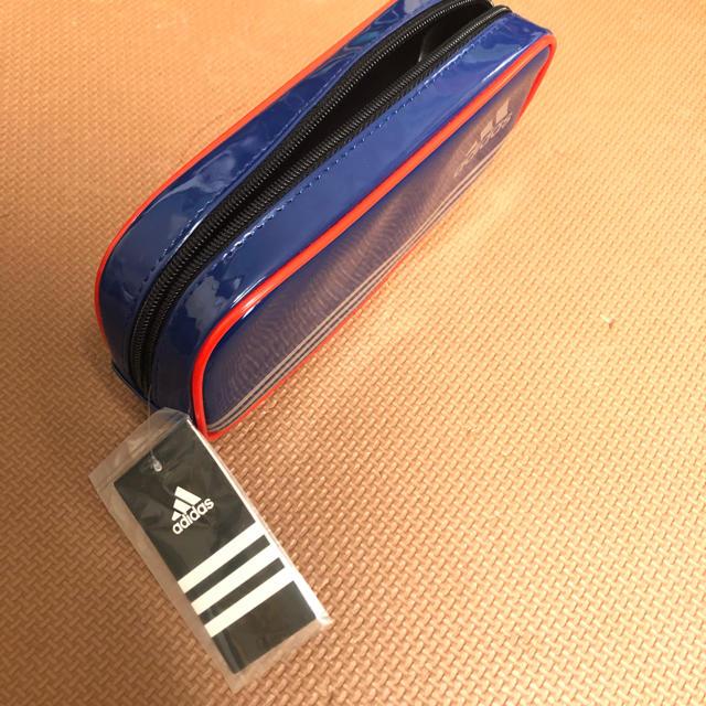 adidas(アディダス)の【新品未使用】アディダス ペンケース 筆箱 インテリア/住まい/日用品の文房具(ペンケース/筆箱)の商品写真