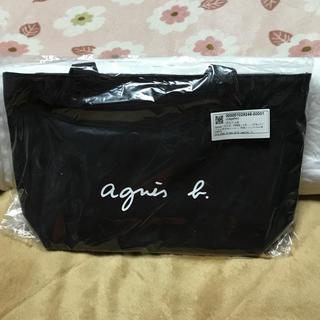 アニエスベー(agnes b.)の❤新品タグ付き❤アニエスベー帆布バッグ《S》❤(トートバッグ)