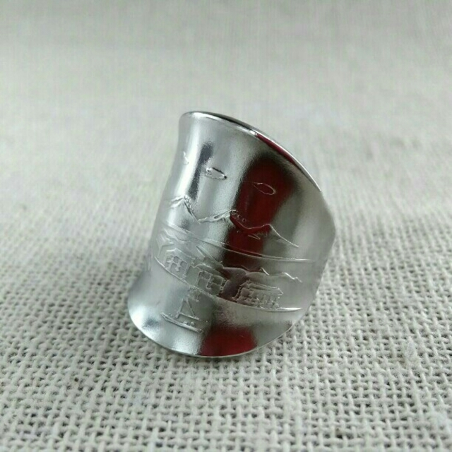 ROLEX(ロレックス)のスプーンリング ROLEX メンズのアクセサリー(リング(指輪))の商品写真