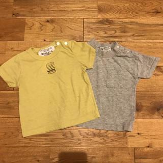 マーキーズ(MARKEY'S)のマーキーズ Tシャツ 2枚セット 80㎝(Tシャツ)