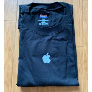 アップル(Apple)の新品 アップル ブラック Tシャツ(Tシャツ/カットソー(半袖/袖なし))