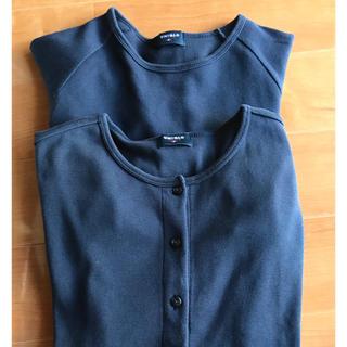 ユニクロ(UNIQLO)のカーディガン、Tシャツ セット(アンサンブル)