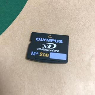 オリンパス(OLYMPUS)のXDカード 2GB(PC周辺機器)