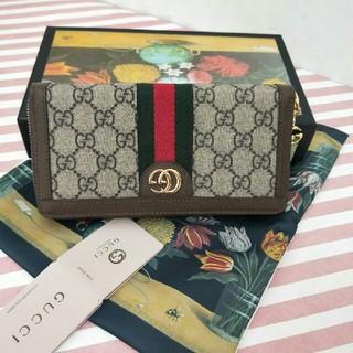 bd9f2387a2a3 Gucci - GUCCI グッチ 長財布の通販|ラクマ