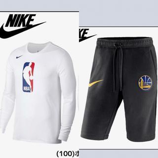 ナイキ(NIKE)の新品 NBA 長袖 tシャツ ハーフパンツ 上下セット(その他)