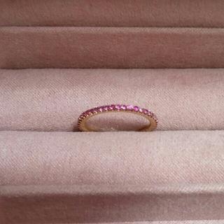 ポンテヴェキオ(PonteVecchio)のポンテヴェキオ K18PGピンクサファイア/ダイヤモンドリング カリーナ12号(リング(指輪))
