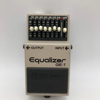 ボス(BOSS)のBOSS ボス エフェクター エコライザー GE-7 ギター(エフェクター)
