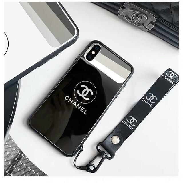 シャネル iPhone8 ケース 三つ折