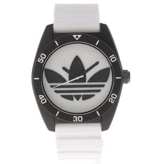 アディダス(adidas)のadidasアディダス☆黒×白腕時計(腕時計(アナログ))