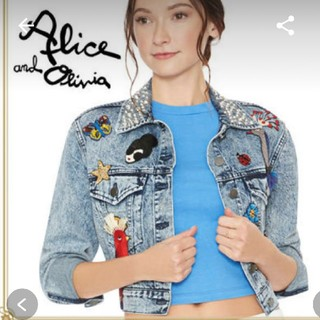 アリスアンドオリビア(Alice+Olivia)の専用 アリスオリビア Gジャン(Gジャン/デニムジャケット)