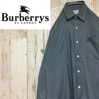 バーバリー(BURBERRY)の【バーバリー】【ワンポイント】【ロゴ刺繍】【チェック】【シャツ】(シャツ)