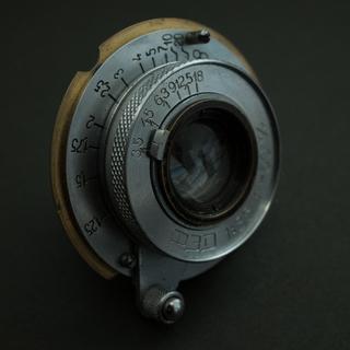 ライカ(LEICA)のマウント無限遠調整済み品 fed 50mm f3.5 elmar (レンズ(単焦点))