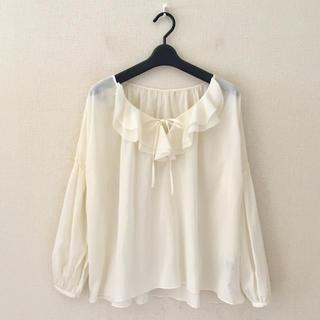 デミルクスビームス(Demi-Luxe BEAMS)のデミルクスビーミス♡プルオーバーシャツ(シャツ/ブラウス(長袖/七分))