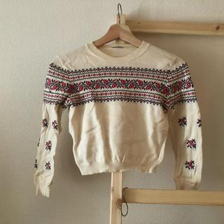 ミュウミュウ(miumiu)のmiu miu  knit   かれんさん着用(ニット/セーター)