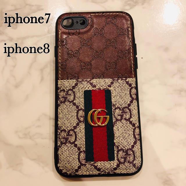 Gucci - GUCCI iphoneケース ❤︎グッチ iphone7 iphone8対応の通販 by いちごうさぎ♡'s shop|グッチならラクマ