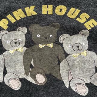 ピンクハウス(PINK HOUSE)のピンクハウス  黒  トレーナー(トレーナー/スウェット)
