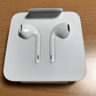 アップル(Apple)のLightning変換付イヤホン / 未使用(ヘッドフォン/イヤフォン)