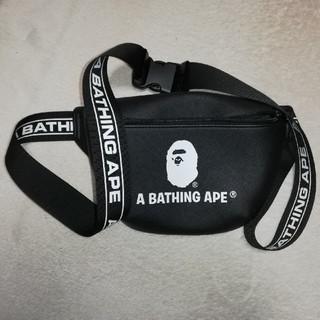アベイシングエイプ(A BATHING APE)の未使用送料無! APE エイプ ウエストポーチ ウエストバッグ(ウエストポーチ)