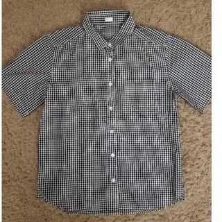 ジーユー(GU)のGU★半袖ギンガムチェックシャツ(シャツ/ブラウス(半袖/袖なし))
