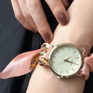 スリーフォータイム(ThreeFourTime)のスリーフォータイムスカーフウォッチ(腕時計)