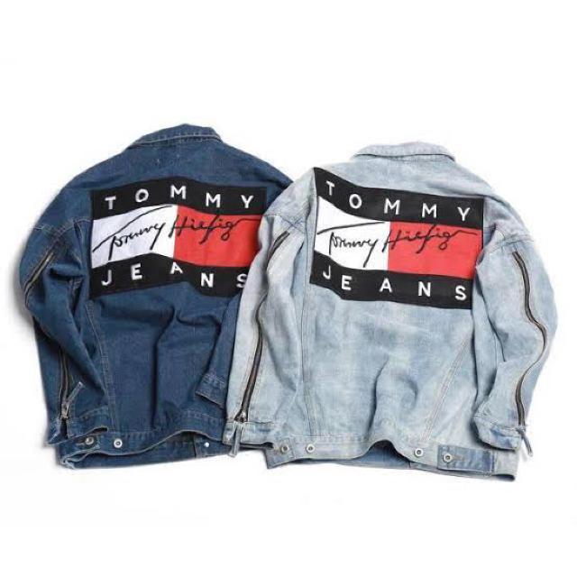 TOMMY HILFIGER(トミーヒルフィガー)のTOMY HILFIGER デニムジャケット メンズのジャケット/アウター(Gジャン/デニムジャケット)の商品写真
