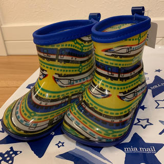 キッズフォーレ(KIDS FORET)の長靴 13cm こども 新幹線 新品 KIDS FORET(長靴/レインシューズ)