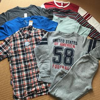 ジーユー(GU)の男の子 150〜160 まとめ売り(Tシャツ/カットソー)