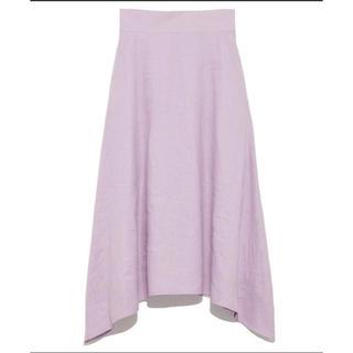 フレイアイディー(FRAY I.D)のフレイアイディー   パープル スカート 1(ロングスカート)