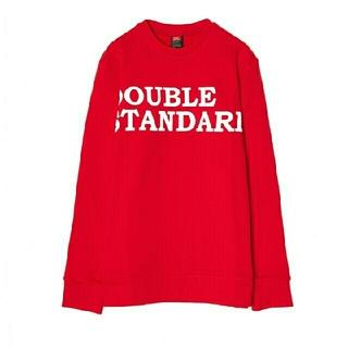 ダブルスタンダードクロージング(DOUBLE STANDARD CLOTHING)のダブルスタンダードクロージング ビッグロゴプリントプルオーバー(トレーナー/スウェット)