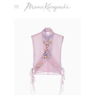 マメ(mame)のmame kurogouchi 19ss Embroidery Collar (その他)