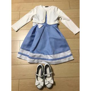 74b5d75841abb ベベ(BeBe)のワンピース、ボレロ、靴の3点セット(ドレス. ドレス フォーマル